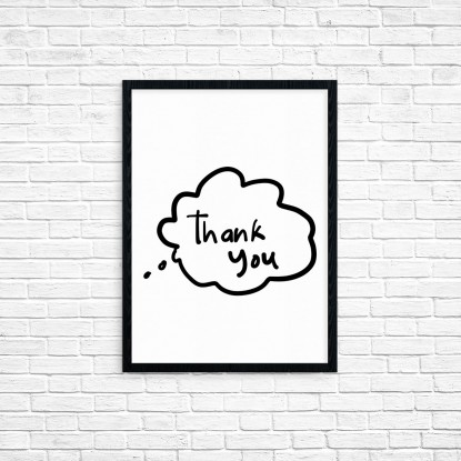 "Plakat A3 ""Thank You"" (31)"