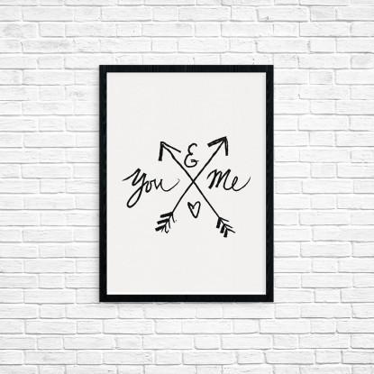 "Plakat A3 ""You & me"" (33)"