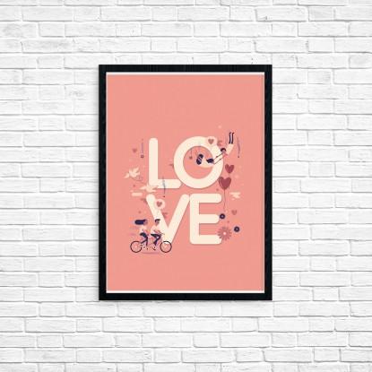 """Plakat A3 """"Love"""" (44)"""