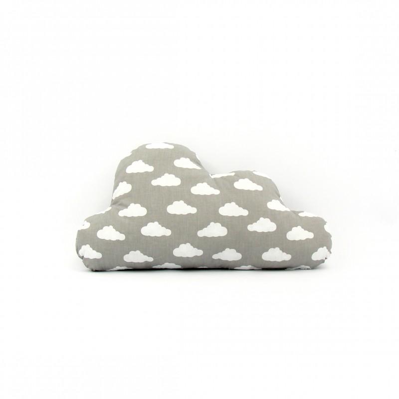 Poduszka Chmurka Szara w chmury