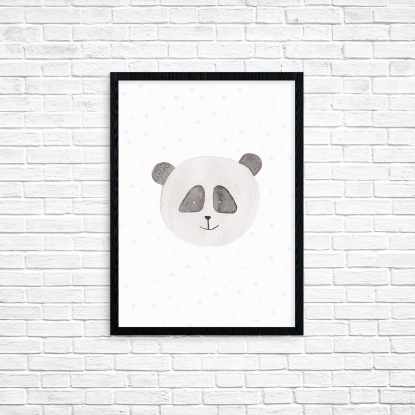 """Plakat A3 """"Panda"""""""