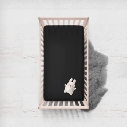 Prześcieradło Czarne (120x60cm)