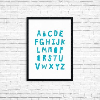"""Plakat A3 """"Alfabet"""" (61B)"""