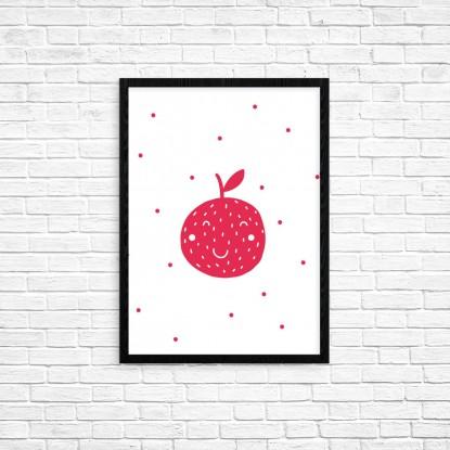 """Plakat A3 """"Jabłko"""" (74)"""