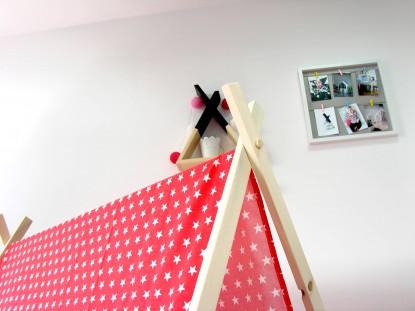 Namiot dla dzieci z matą, Czarna Koniczyna i Czarna Mata