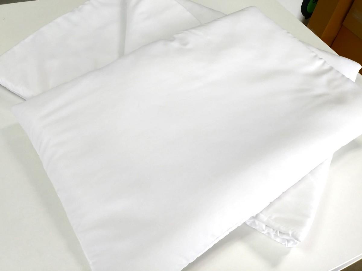 Antyalergiczny wkład pościelowy z płaską poduszką