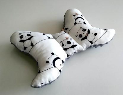 Poduszka Motylek Pandy i Szary