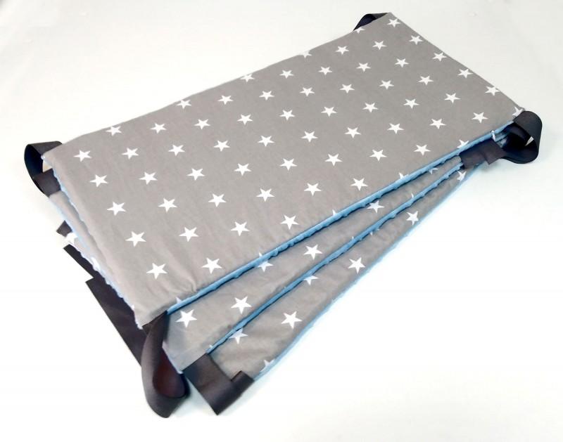 Ochraniacz usztywniany Gwiazdki i Niebieski (trzy panele)