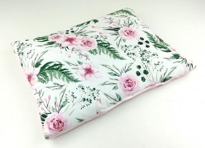 Płaska poduszka Velvet inGarden 30x40cm