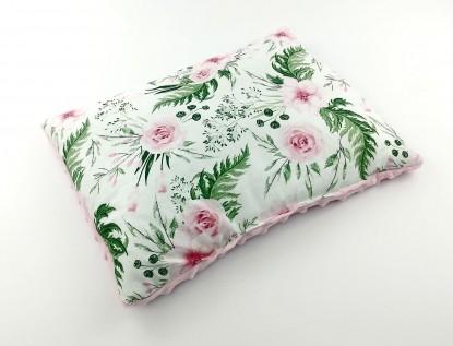Płaska poduszka Minky inGarden 30x40cm