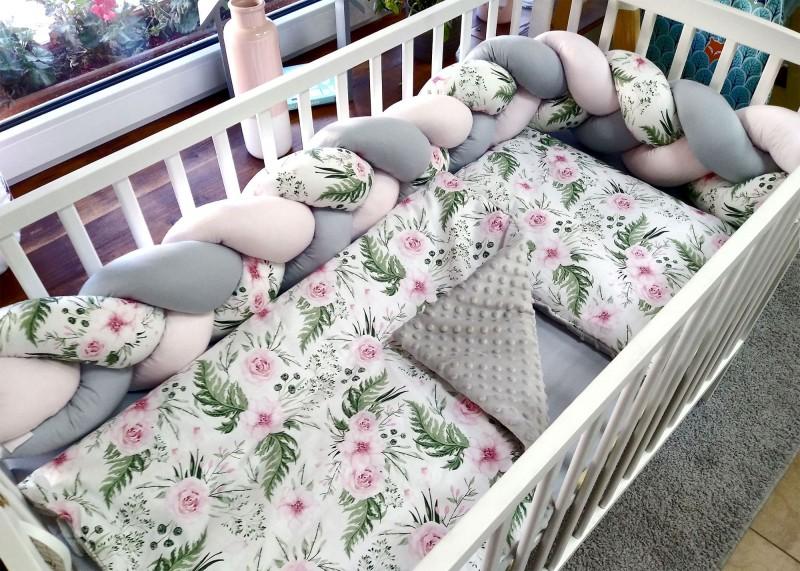 Pościel dla dzieci z bawełny do łóżeczka Owieczka