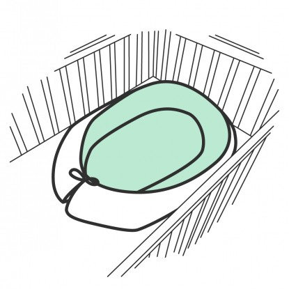 Kokon niemowlęcy bawełniany w dowolnej kolorystyce