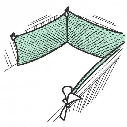Ochraniacz do łóżeczka w dowolnym wzorze