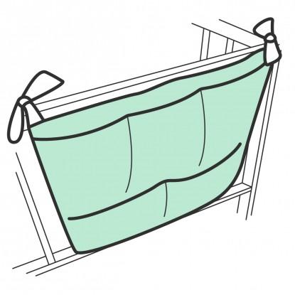 Organizer na łóżeczko standardowy w dowolnym wzorze