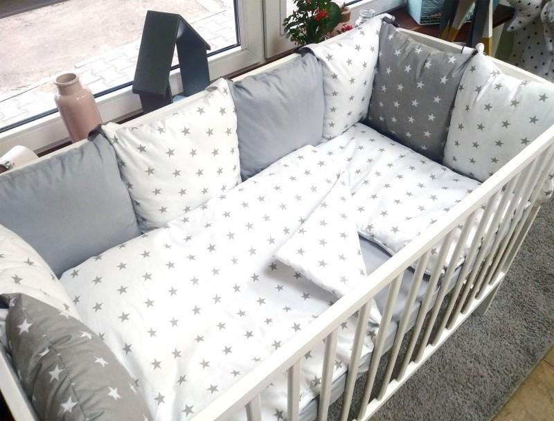 3-el pościel do łóżeczka Gwiazdy