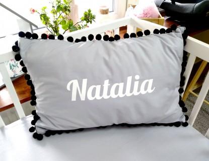 Poduszka z imieniem Natalia 60x40cm