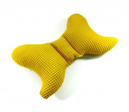 Poduszka Antywstrząsowa Motylek Waffle Miodowa