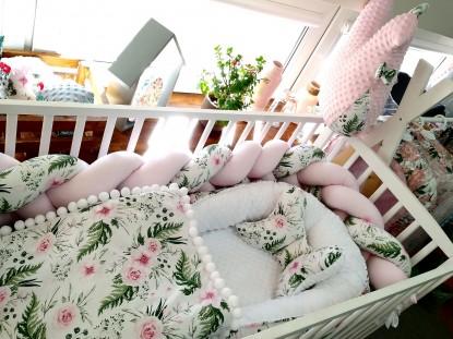 5-elementowa pościel do łóżeczka inGarden