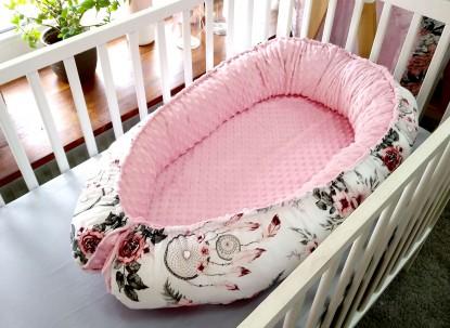 Kokon niemowlęcy Różowe Łapacze Snów