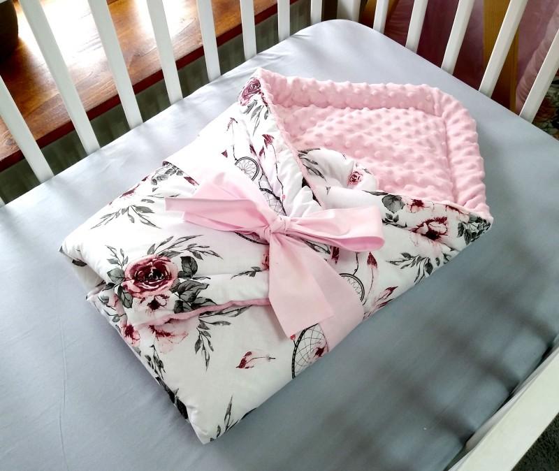 Rożek niemowlęcy Różowe Łapacze Snów