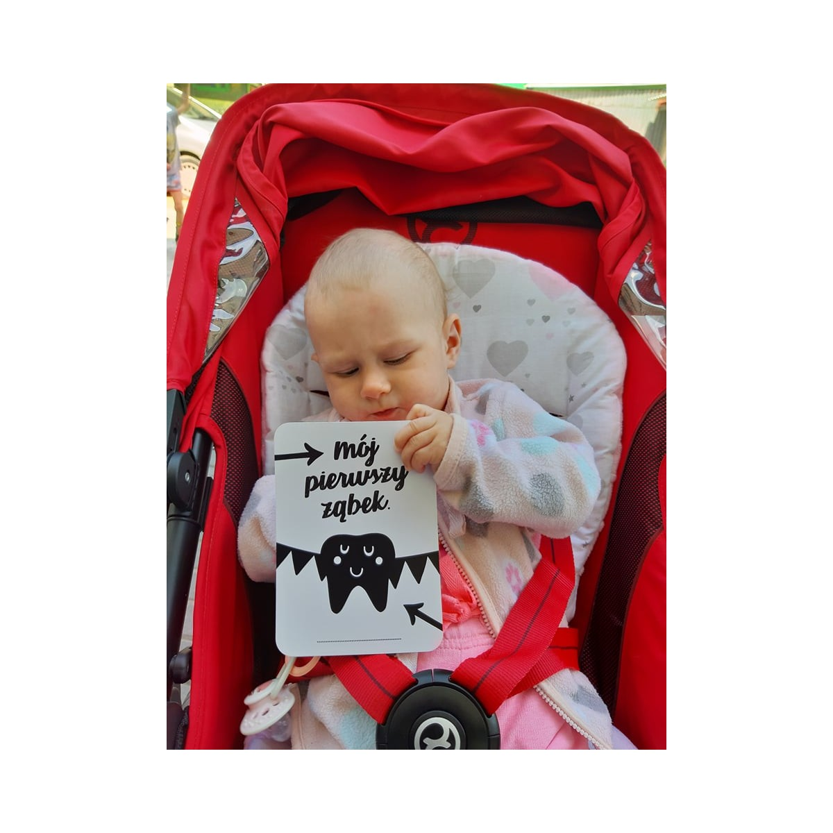 """Karty do zdjęć """"Mój pierwszy rok"""" B&W w kopercie"""