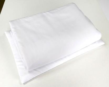 Antyalergiczny wkład pościelowy 135x100cm z płaską poduszką 40x60cm
