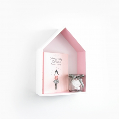 Półka Domek Różowy