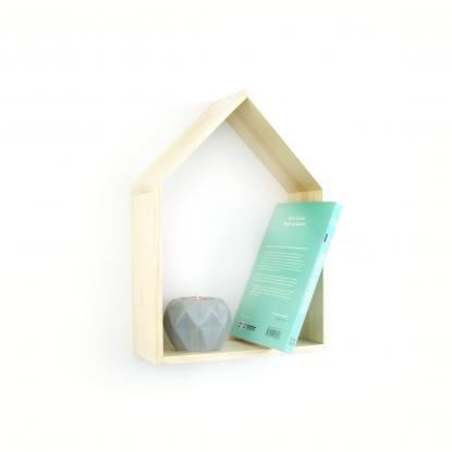 Półka Domek w kolorze naturalnym