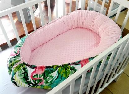 Kokon niemowlęcy Flamingi i Róż