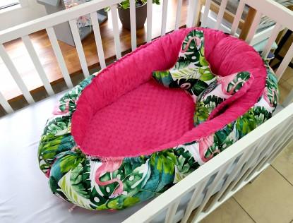 Kokon niemowlęcy Flamingi i Fuksja