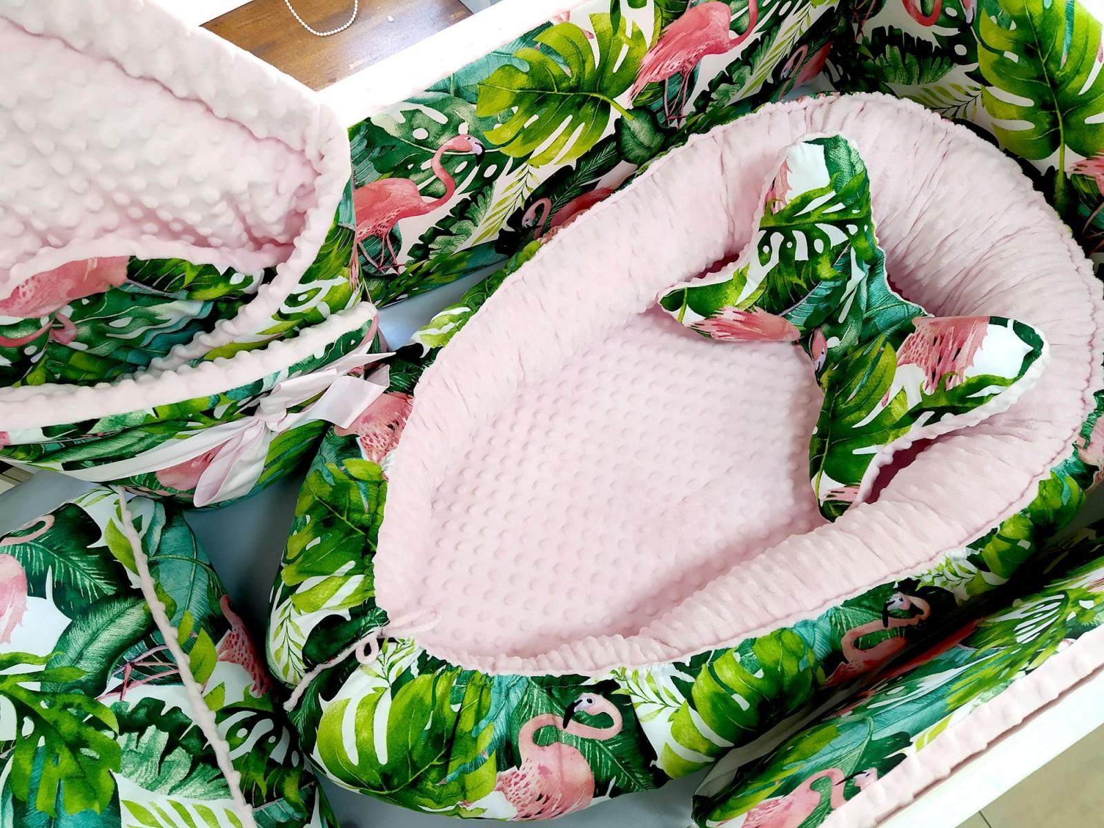 Zestaw Flamingi i Róż