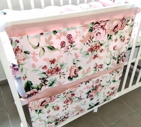 Organizer na łóżeczko Róże