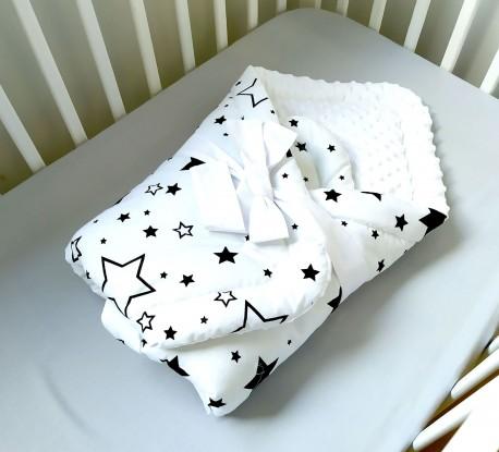 Rożek niemowlęcy Czarna Galaktyka i Biel