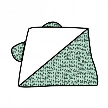 Ręcznik z kapturkiem Waffle w dowolnym wzorze