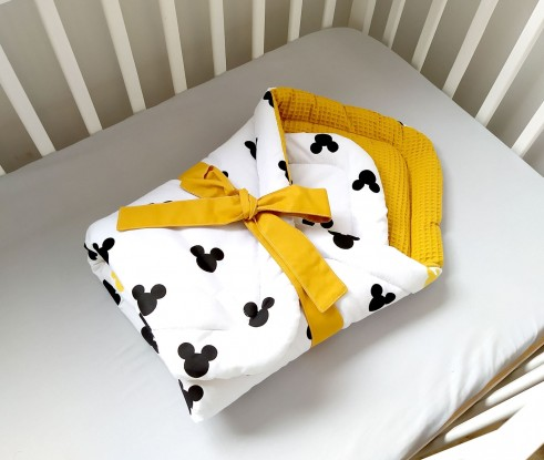 Rożek niemowlęcy Waffle Myszka Miki