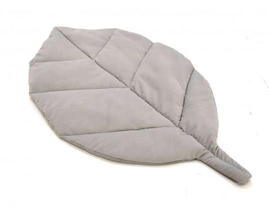 Mata liść Szary Velvet