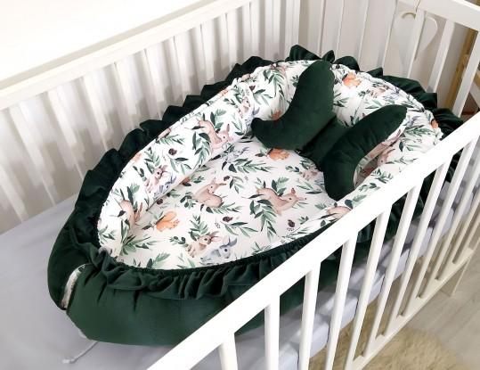 Kokon niemowlęcy Velvet Forest [PREMIUM]