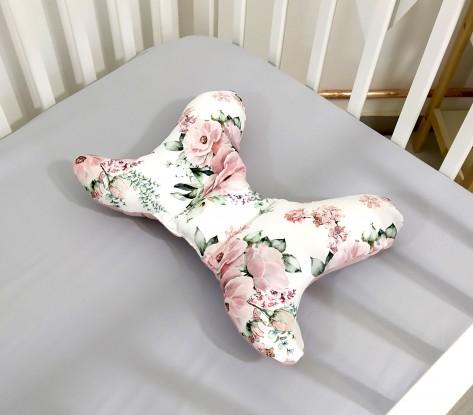 Poduszka Motylek Kwiaty [PREMIUM]