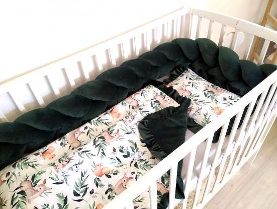 3-el pościel do łóżeczka Forest [PREMIUM]