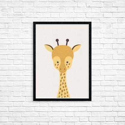 """Plakat A3 """"Żyrafa"""" (21)"""