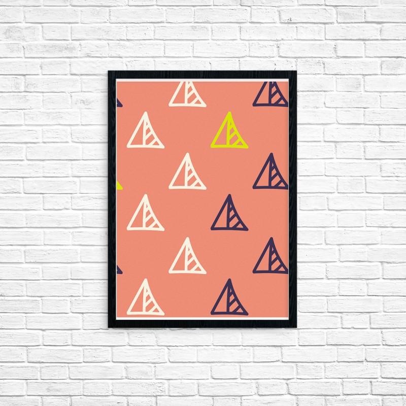 """Plakat A3 """"Trójkąt"""" (49)"""