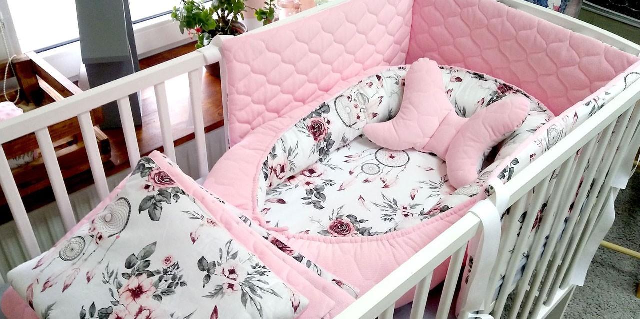 Różowe łapacze snów